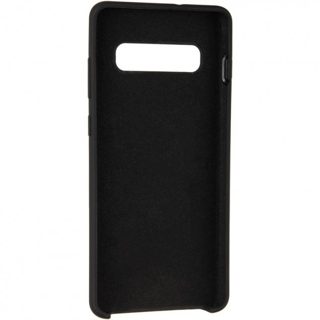 Original 99% Soft Matte Case for Samsung G975 (S10 Plus) Black