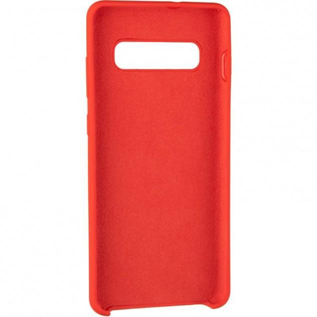 Original 99% Soft Matte Case for Samsung G975 (S10 Plus) Red