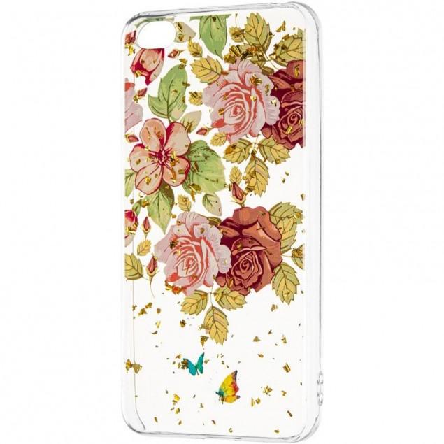 Deep Shine Flowers Case (New) for Xiaomi Redmi Go Rose