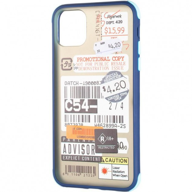 Mate Crazy Case for iPhone 11 Pro Blue