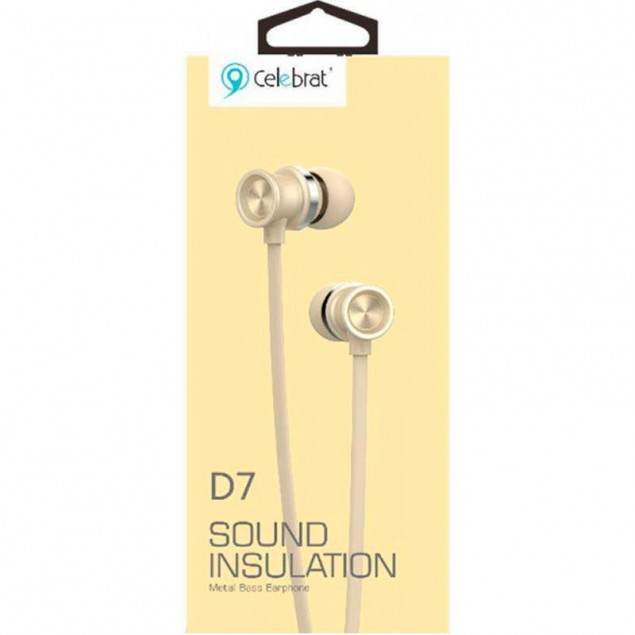 HF MP3 Celebrat D7 Gold + mic + button call answering