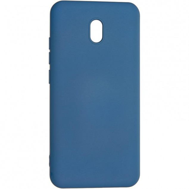 Full Soft Case for Xiaomi Redmi 8a Blue
