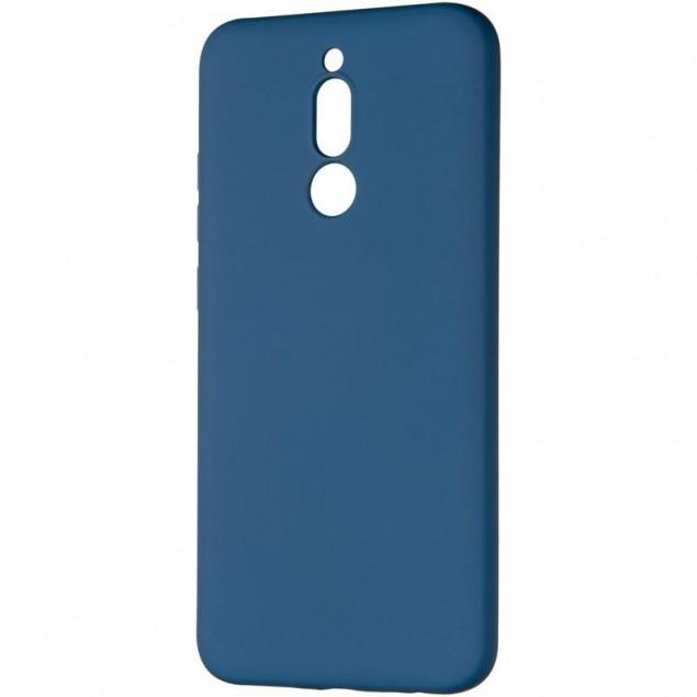 Full Soft Case for Xiaomi Redmi 8 Blue