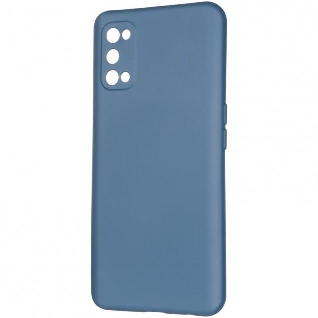 Full Soft Case for Realme 7 Pro Blue