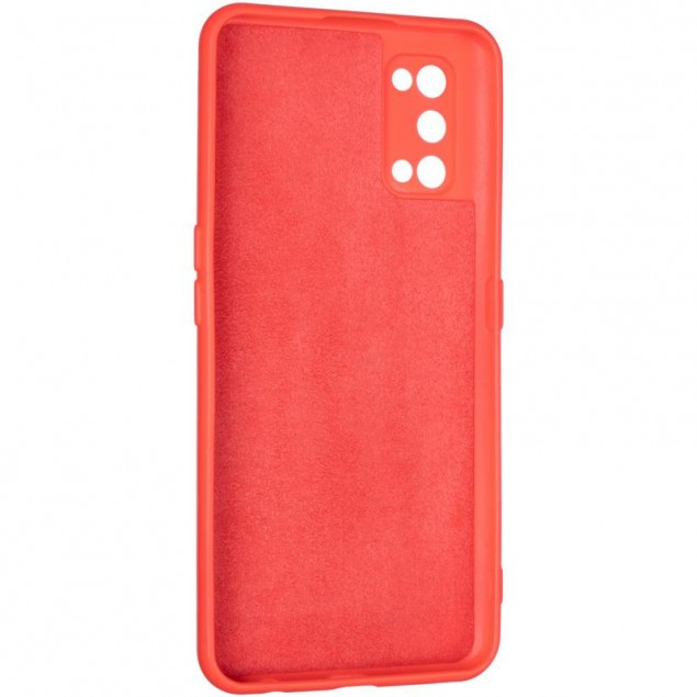 Full Soft Case for Realme 7 Pro Red