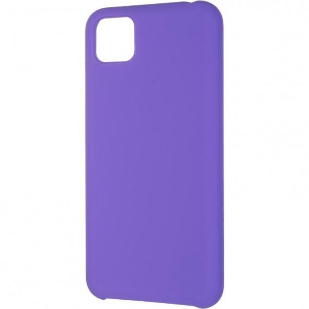 Original 99% Soft Matte Case for Huawei Y5P Violet