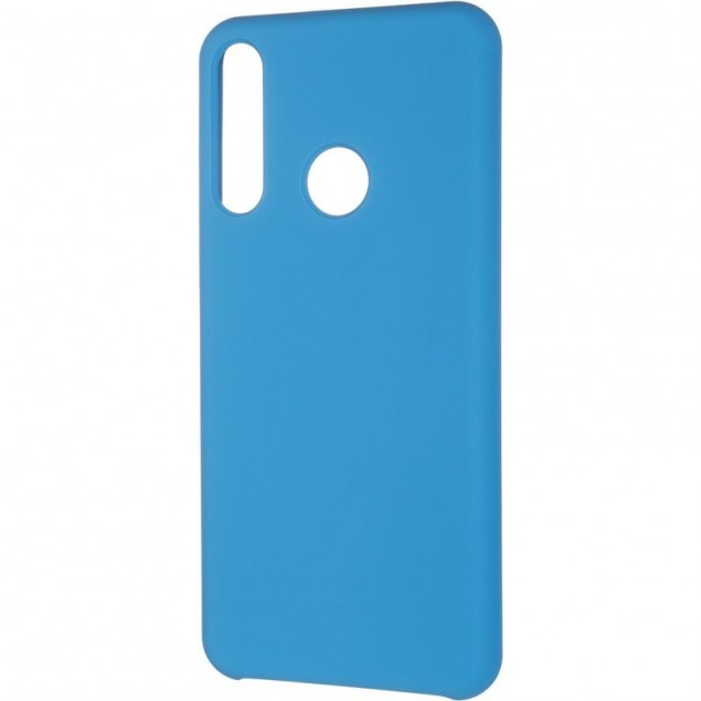 Original 99% Soft Matte Case for Huawei Y6P Blue