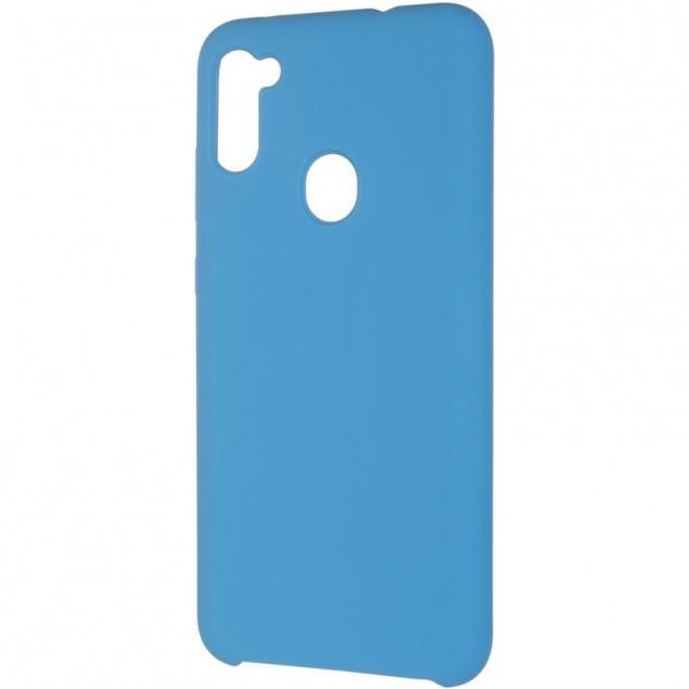 Original 99% Soft Matte Case for Samsung A115 (A11)/M115 (M11) Blue