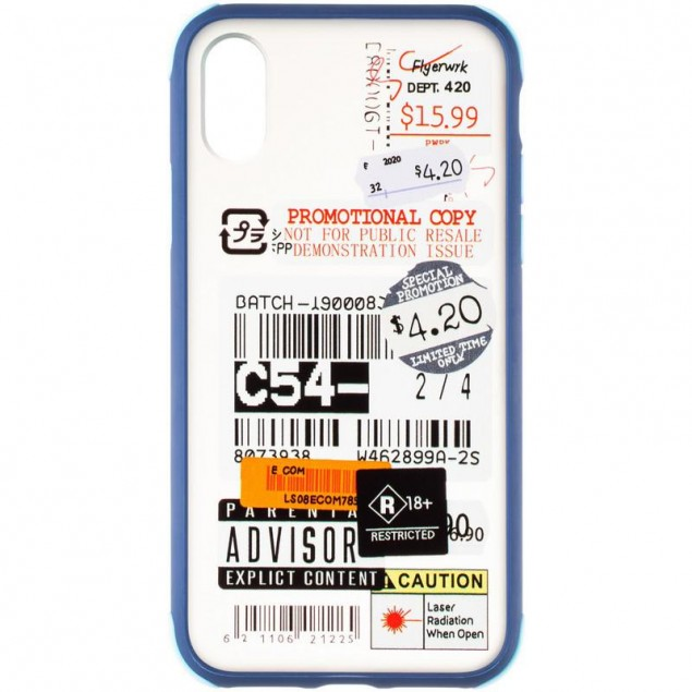 Mate Crazy Case for iPhone X Blue