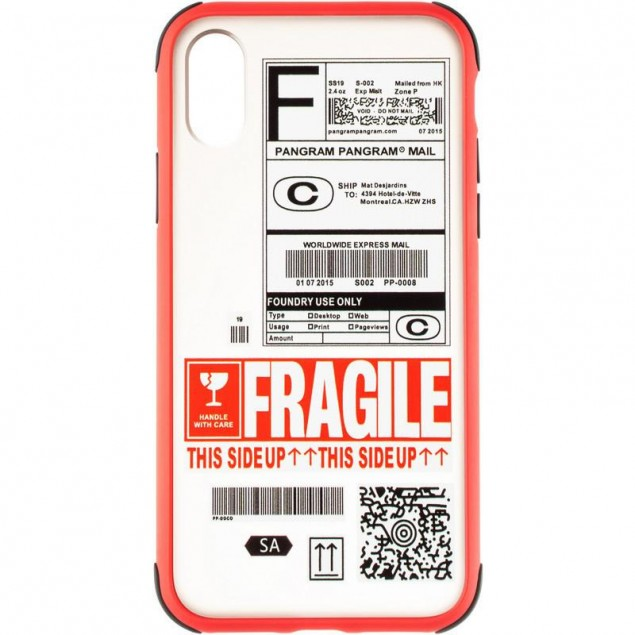 Mate Crazy Case for iPhone X Red