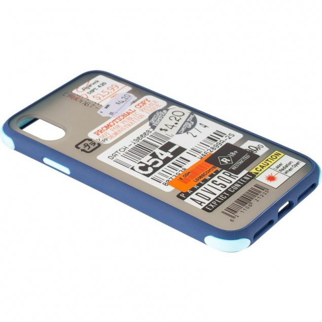 Mate Crazy Case for iPhone XS Max Blue