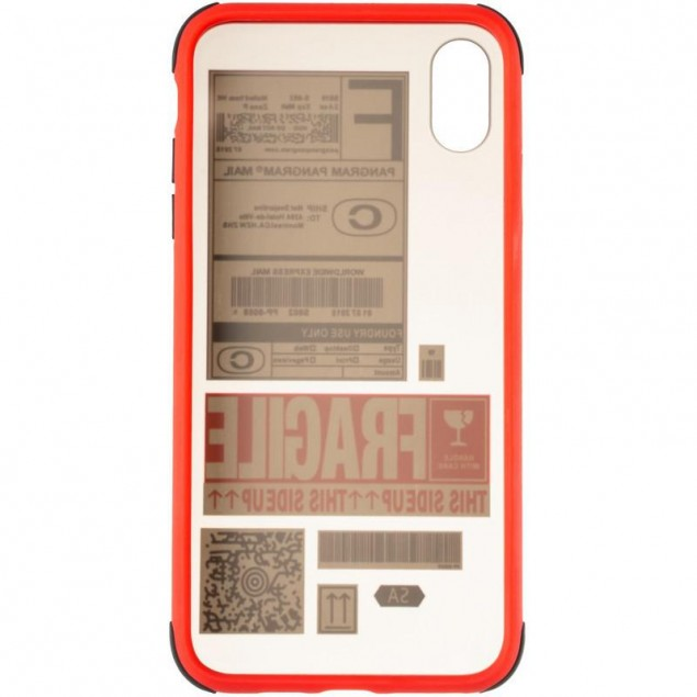 Mate Crazy Case for iPhone XS Max Red