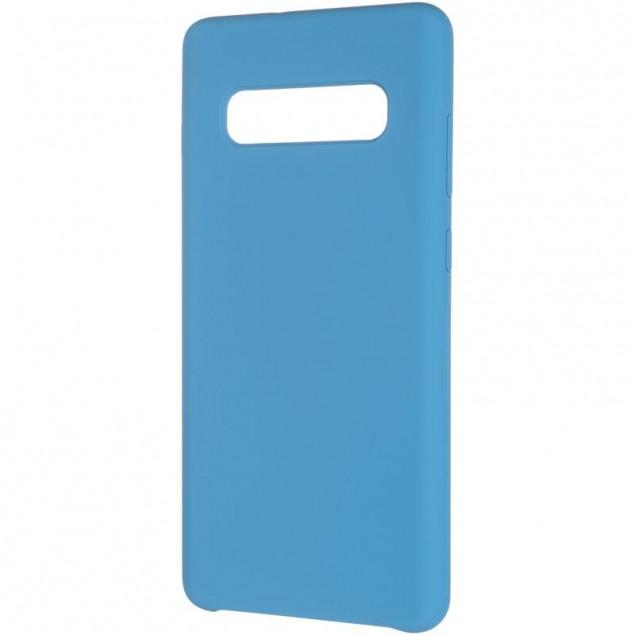 Original 99% Soft Matte Case for Samsung G975 (S10 Plus) Blue