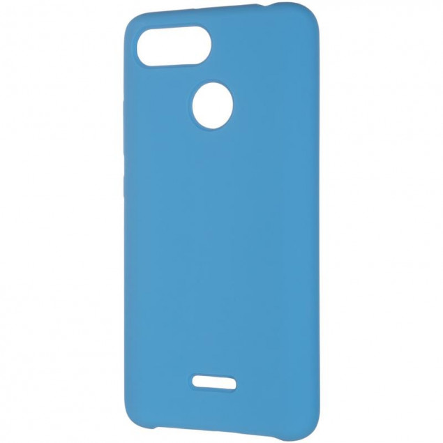 Original 99% Soft Matte Case for Xiaomi Redmi 6 Blue