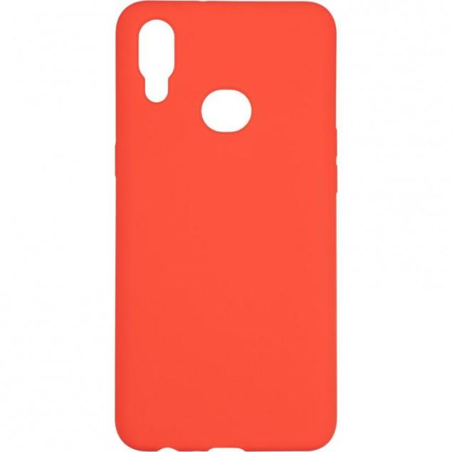 Original 99% Soft Matte Case for Samsung A107 (A10s) Red
