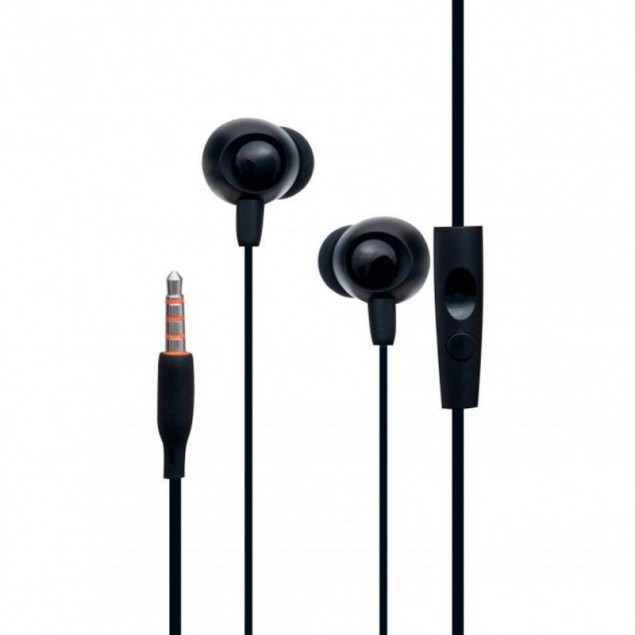 HF MP3 Celebrat FLY-1 Black + mic + button call answering