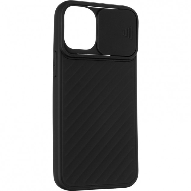 Carbon Camera Air Case for iPhone 12 Mini Black