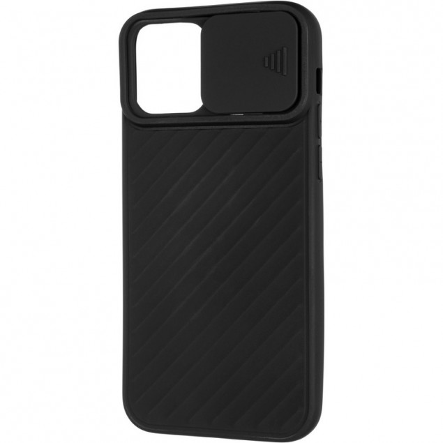 Carbon Camera Air Case for iPhone 12/12 Pro Black