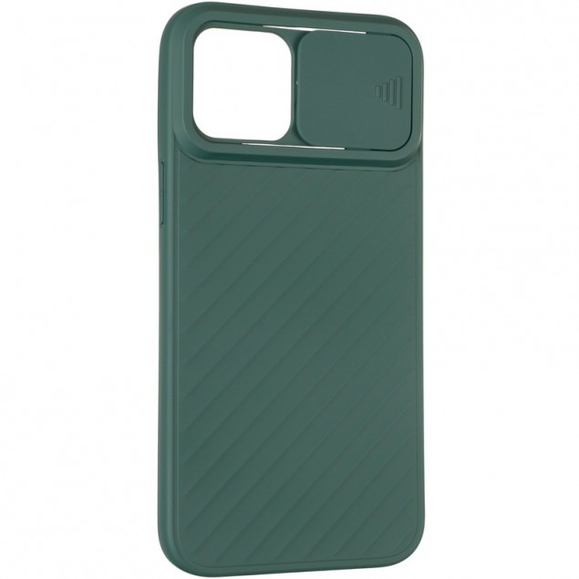 Carbon Camera Air Case for iPhone 12 Pro Max Green