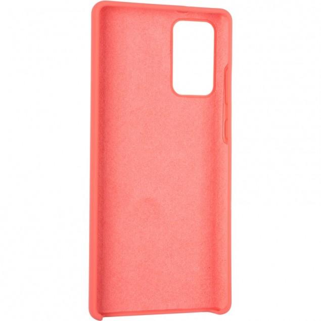 Original 99% Soft Matte Case for Samsung N980 (Note 20) Rose Red
