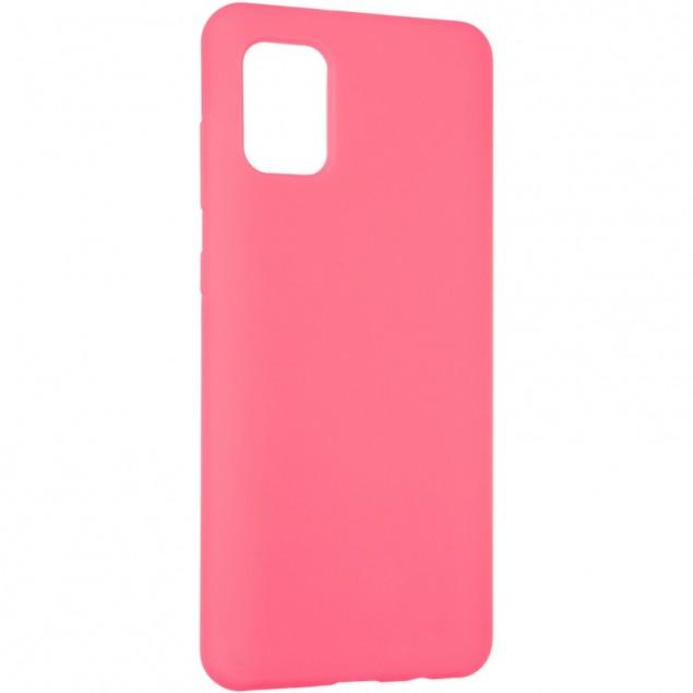 Original 99% Soft Matte Case for Samsung A315 (A31) Crimson
