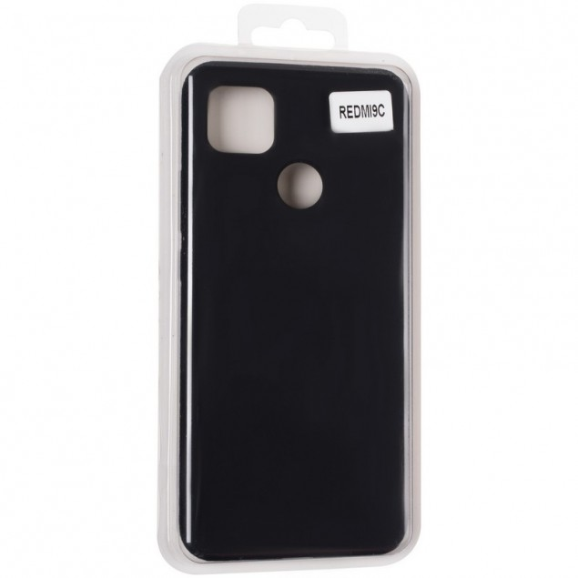 Original 99% Soft Matte Case for Xiaomi Redmi 9C Black