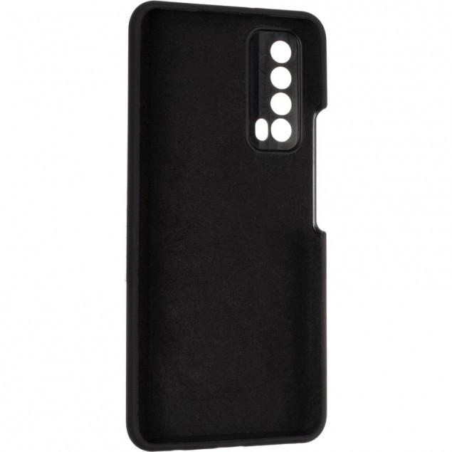 Original 99% Soft Matte Case for Huawei P Smart (2021) Black