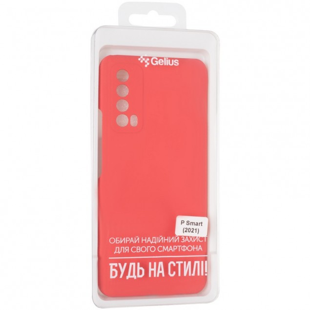 Original 99% Soft Matte Case for Huawei P Smart (2021) Red