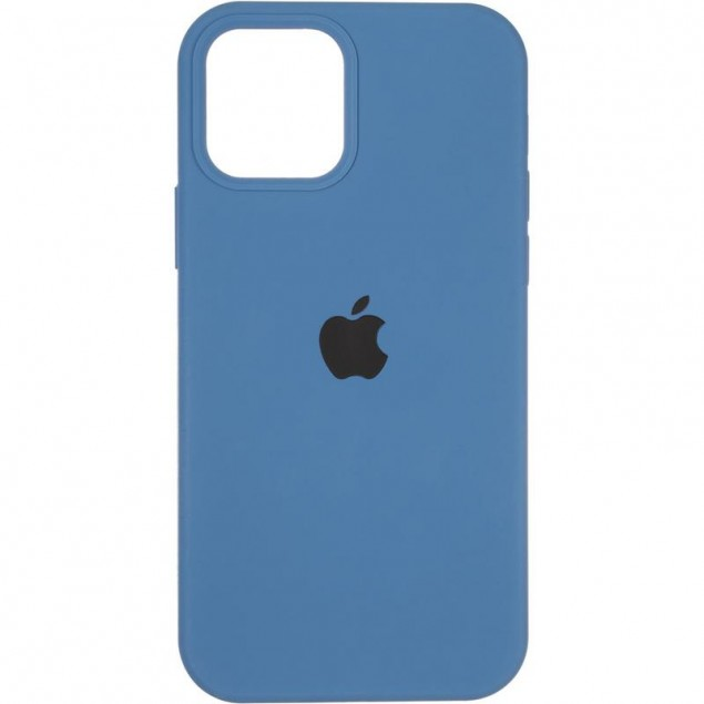 Original Full Soft Case (MagSafe) for iPhone 12/12 Pro Blue