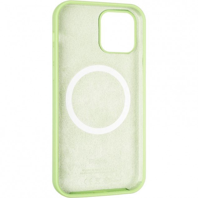 Original Full Soft Case (MagSafe) for iPhone 12/12 Pro Green