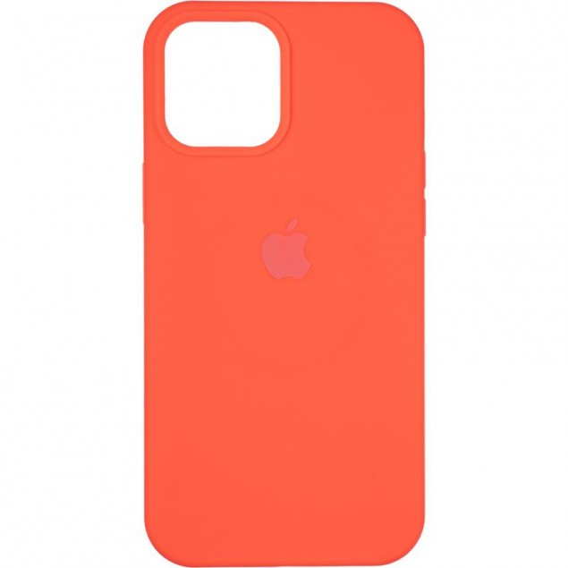 Original Full Soft Case (MagSafe) for iPhone 12 Pro Max Red