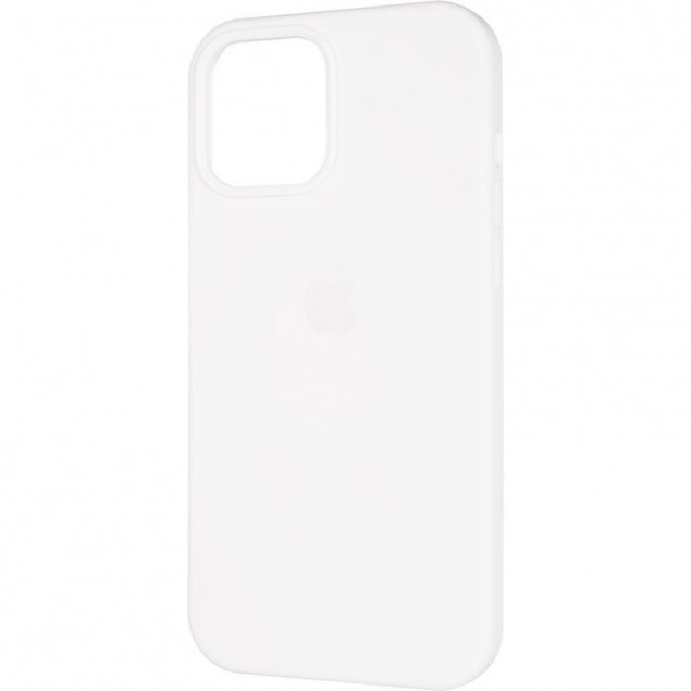 Original Full Soft Case (MagSafe) for iPhone 12 Pro Max White
