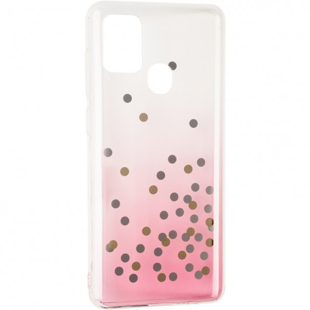 Crystal Shine Case for Samsung A217 (A21s) Pink