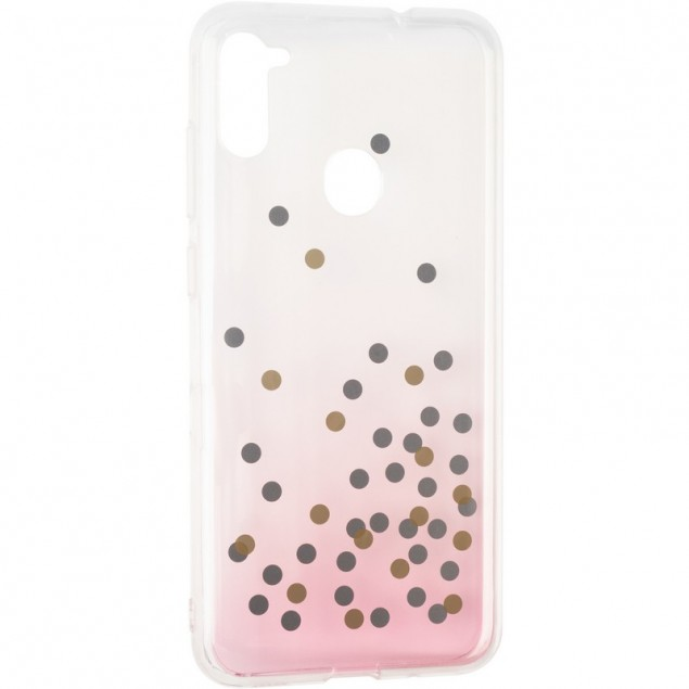 Crystal Shine Case for Samsung A115 (A11) Pink