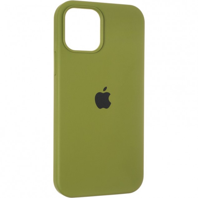 Original Full Soft Case for iPhone 12/12 Pro Pinery Green