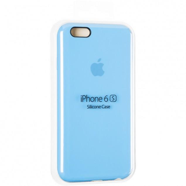 Original Full Soft Case for iPhone 6 Marine Blue