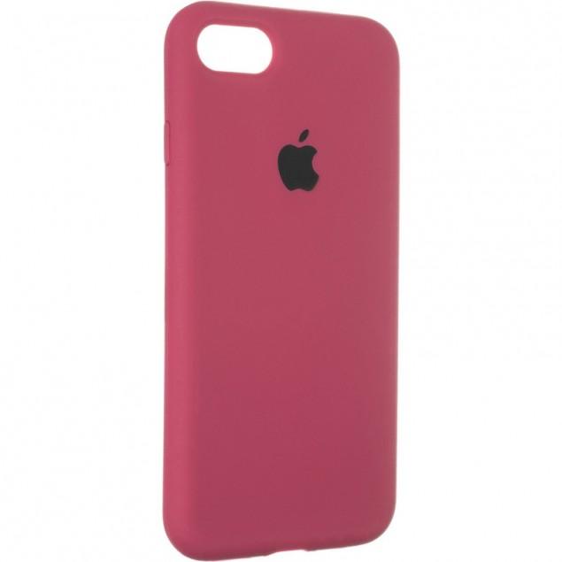 Original Full Soft Case for iPhone 7/8/SE Bordo