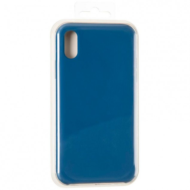 Original 99% Soft Matte Case for iPhone XS Max Horizon Blue