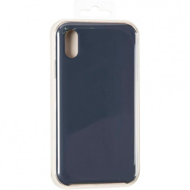Original 99% Soft Matte Case for iPhone XS Max Midnight Blue