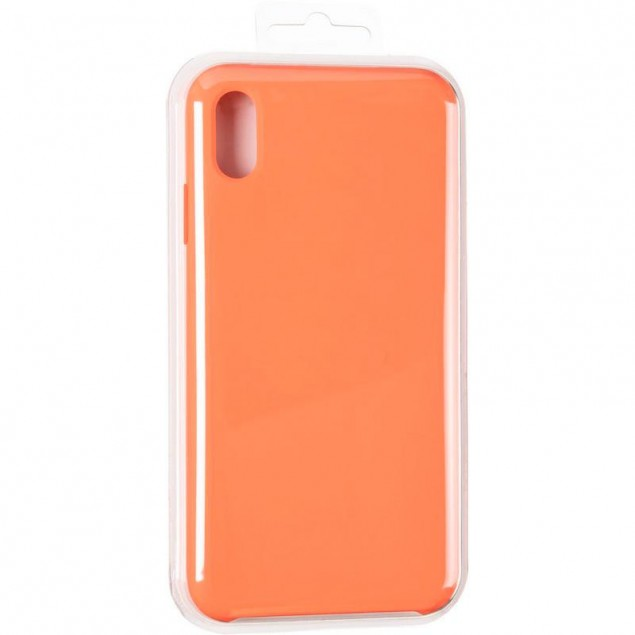 Original 99% Soft Matte Case for iPhone XS Max Nectarine