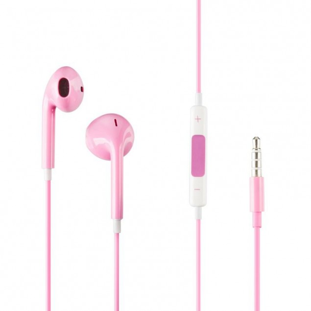HF Copy iPhone 5 Pink с регулятором громкости