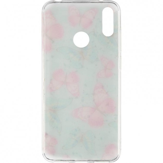 Deep Shine Flowers Case for iPhone X Butterfly