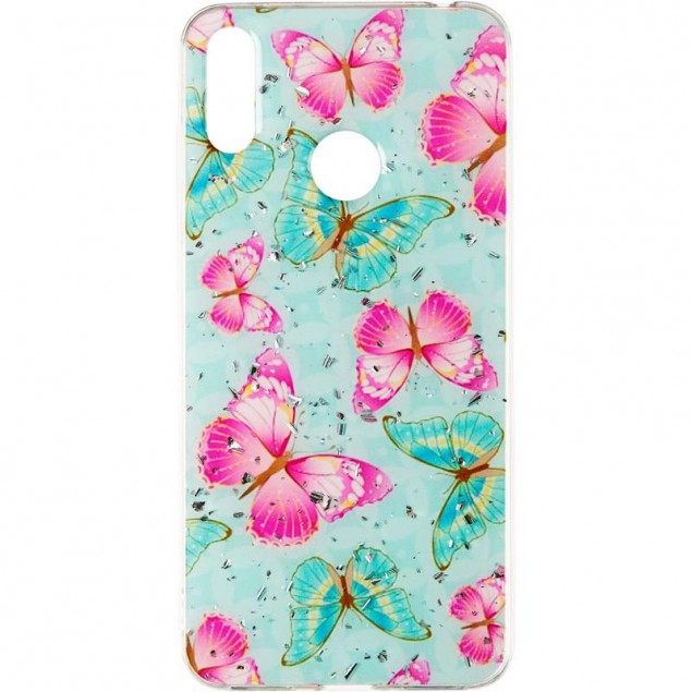 Deep Shine Flowers Case for Samsung A305 (A30) Butterfly