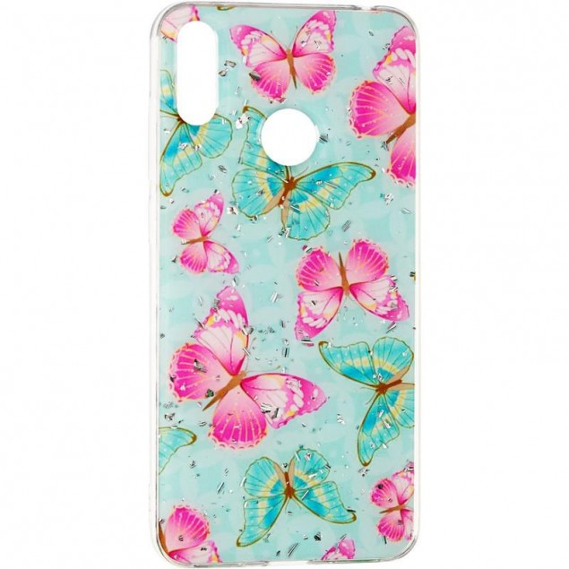 Deep Shine Flowers Case for Samsung A205 (A20) Butterfly