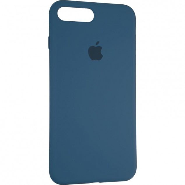 Original Full Soft Case for iPhone 7 Plus/8 Plus Space Blue