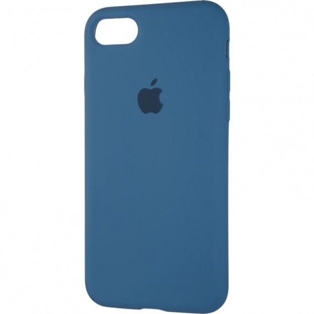 Original Full Soft Case for iPhone 7/8/SE Space Blue