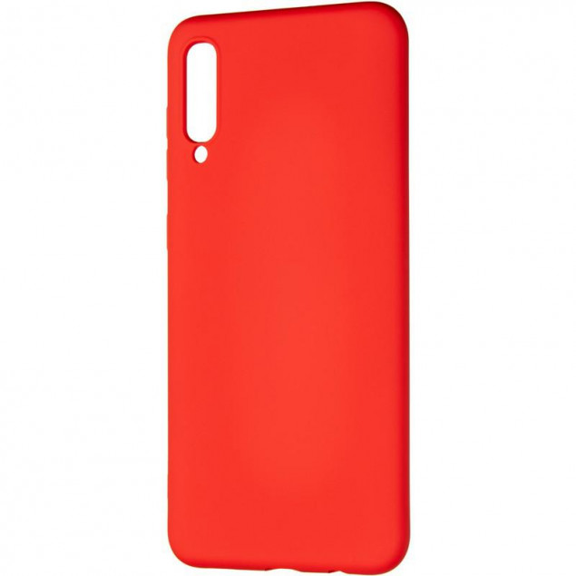 Full Soft Case for Samsung A307 (A30s) Red