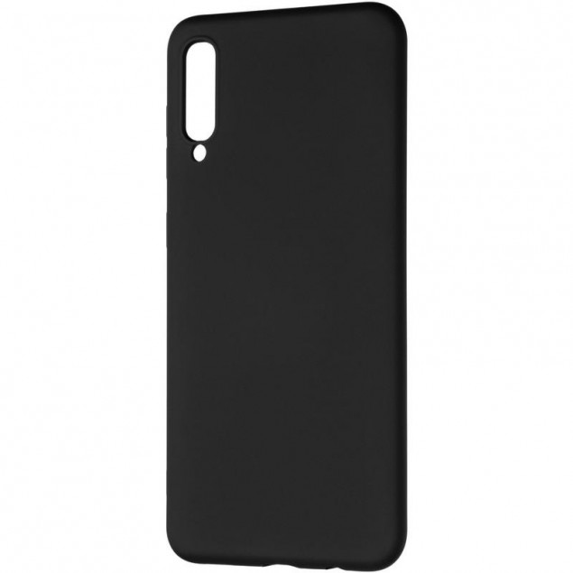 Full Soft Case for Samsung A307 (A30s) Black
