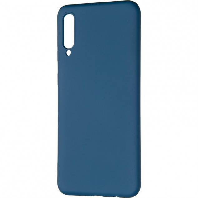 Full Soft Case for Samsung A307 (A30s) Blue