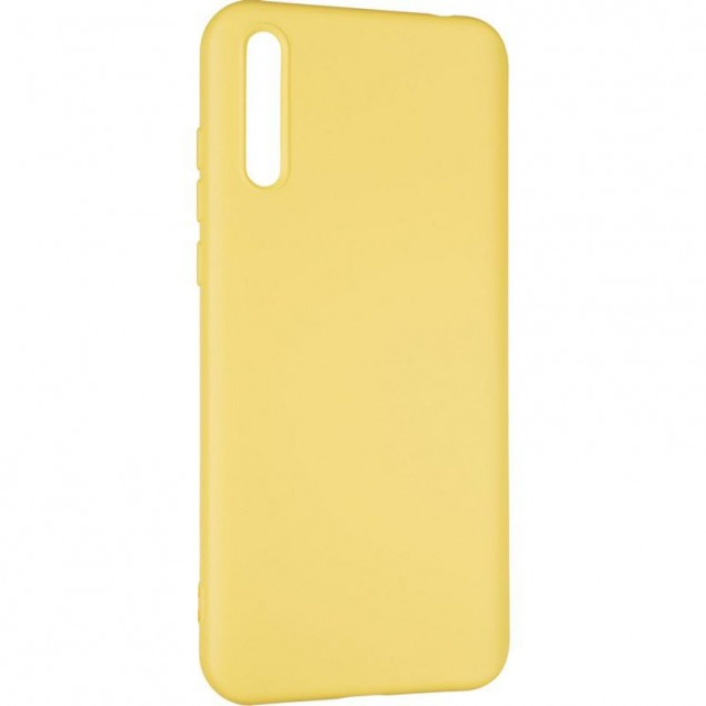 Full Soft Case for Huawei Y8P Yellow